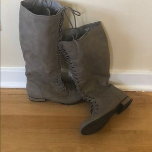 JustFab below the knee boots